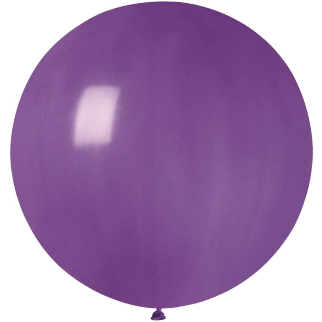Balon Olbrzym fioletowy pastel Gemar 80cm