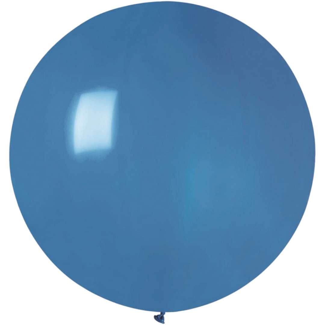 Balon Olbrzym niebieski pastel Gemar 80cm
