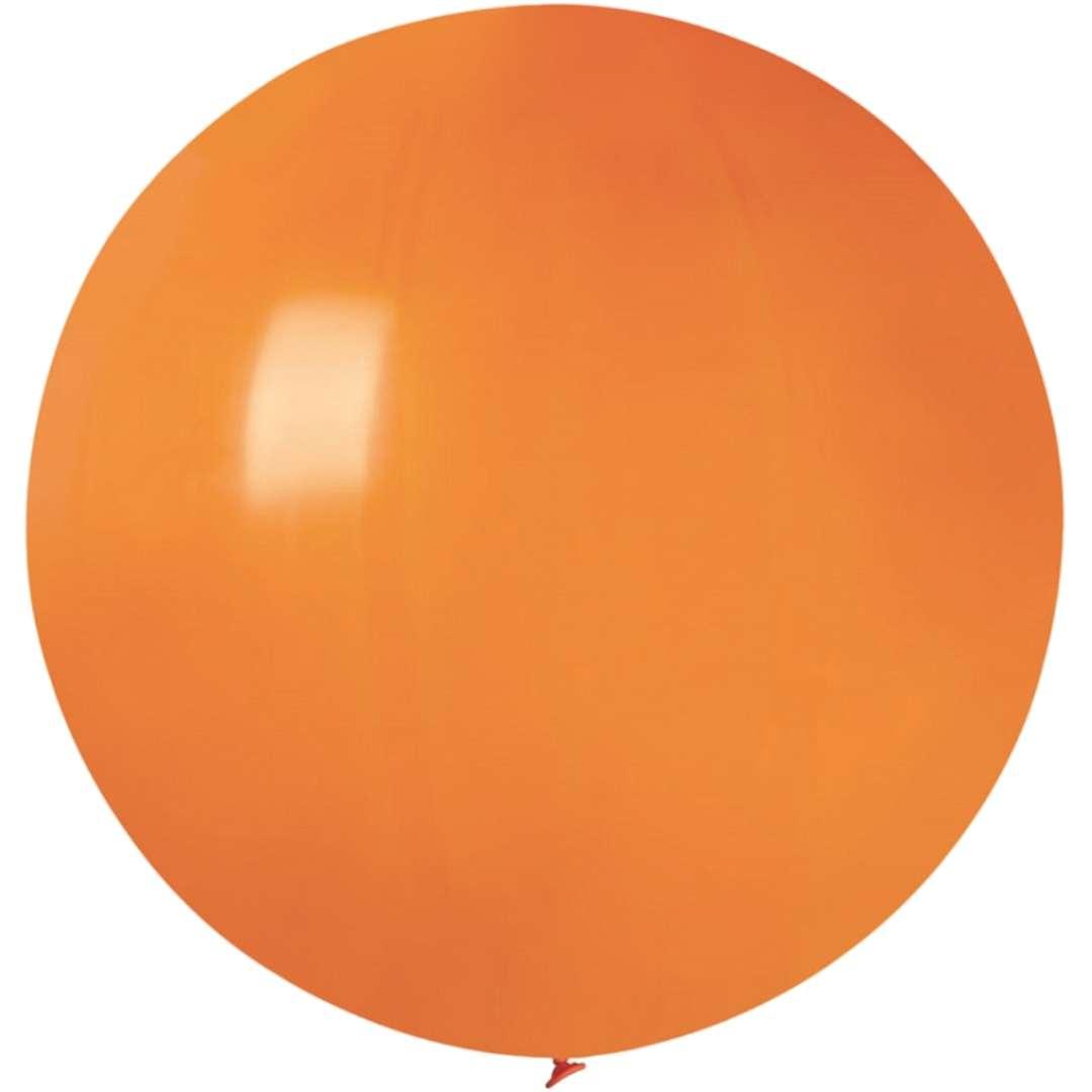 Balon Olbrzym pomarańczowy pastel Gemar 80cm