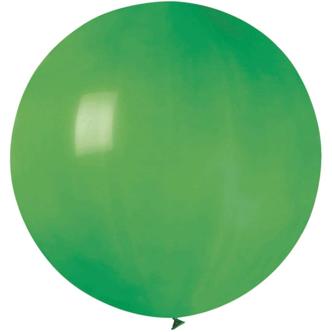 Balon Olbrzym zielony pastel Gemar 80cm