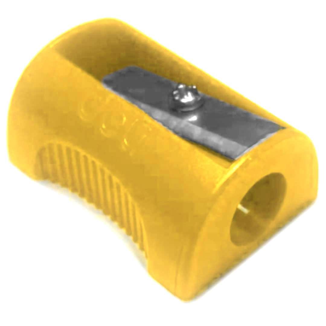 Temperówka Classic - Płaska żółta Deli