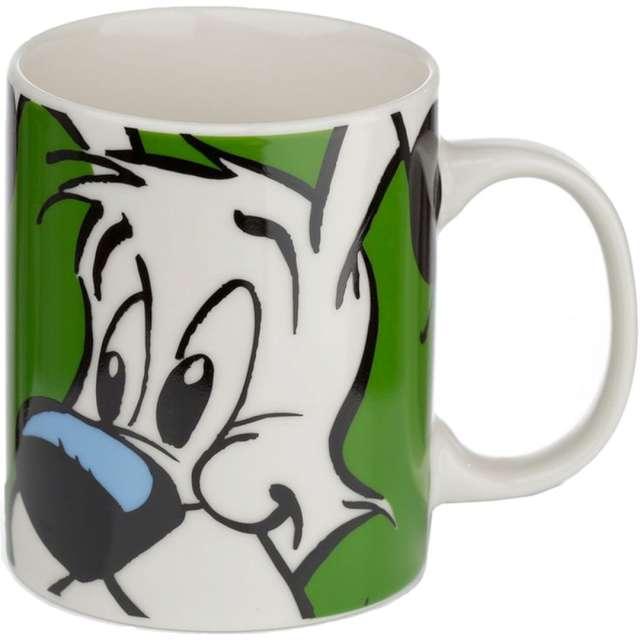 """Kubek z nadrukiem """"Idefix - Asterix i Obelix"""", biały, Kemiś, 300 ml"""