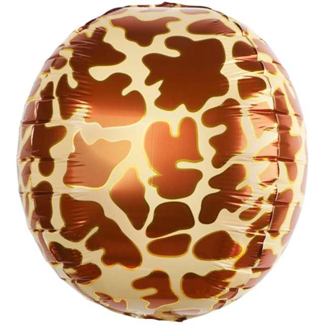 Balon foliowy Animal: skóra Żyrafy PartyPal 22 RND