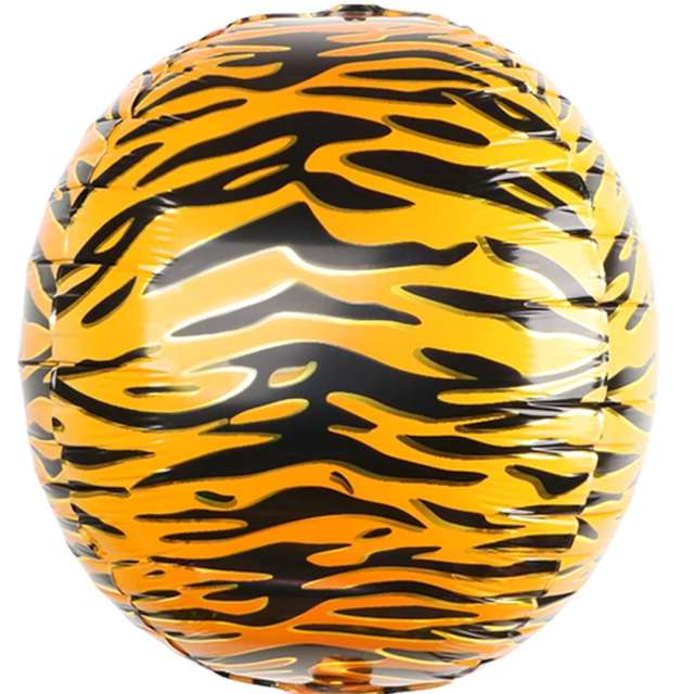 Balon foliowy Animal: skóra Tygrysa PartyPal 22 RND