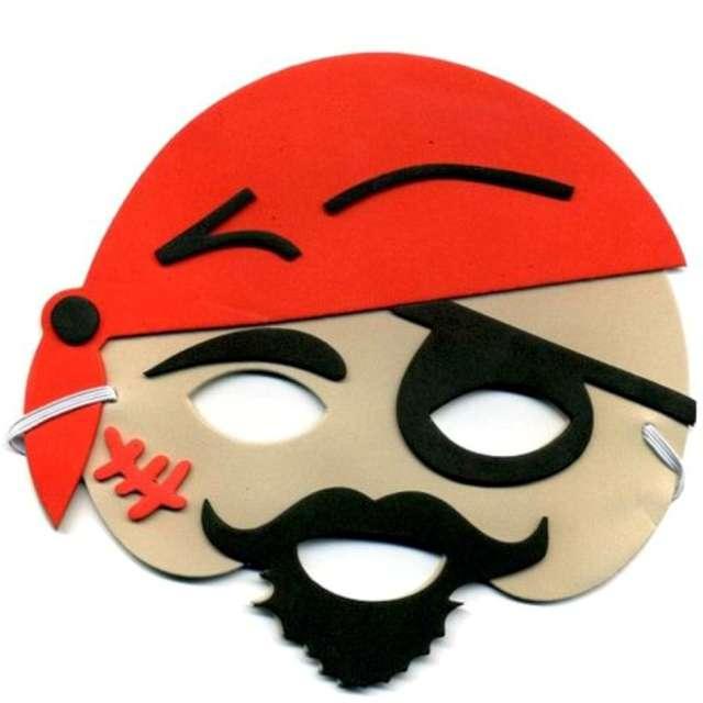 """Maska """"Jednooki Pirat"""", piankowa, Arpex"""