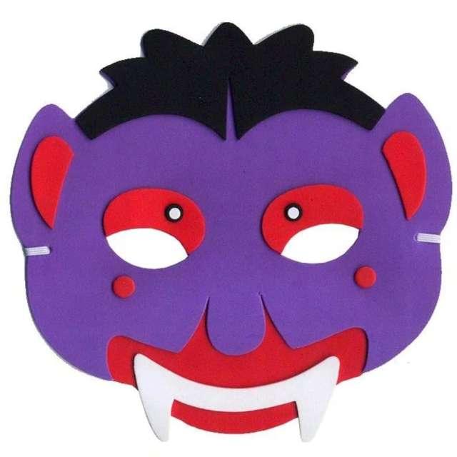 """Maska """"Fioletowy Diabeł"""", piankowa, Arpex"""