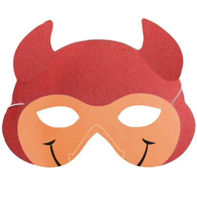 """Maska """"Czerwony Diabeł"""", piankowa, Arpex"""