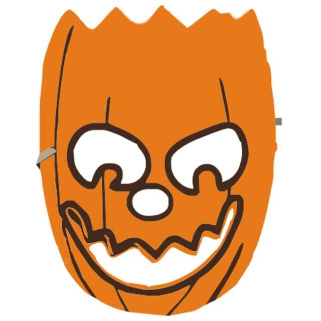 """Maska """"Pomarańczowa Dynia"""", piankowa, Arpex"""