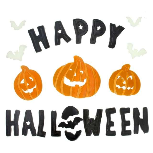 """Naklejki na szybę """"Happy Halloween"""", PartyPal"""