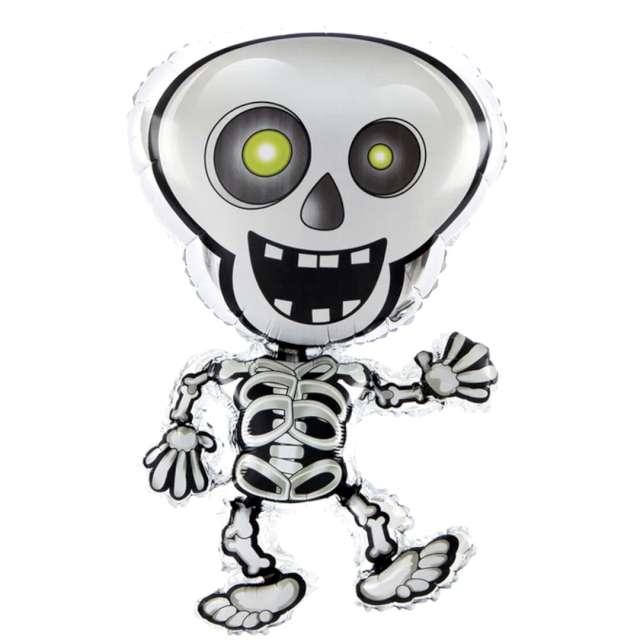 Balon foliowy  Halloween - Kościotrup czarno-biały PatyPal 32 SHP