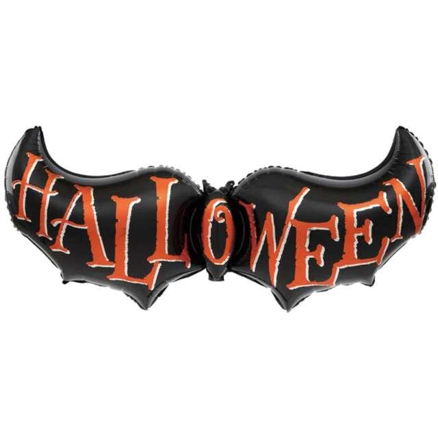 """Balon foliowy """"Halloween - Nietoperz"""", PartyPal, 47"""", SHP"""