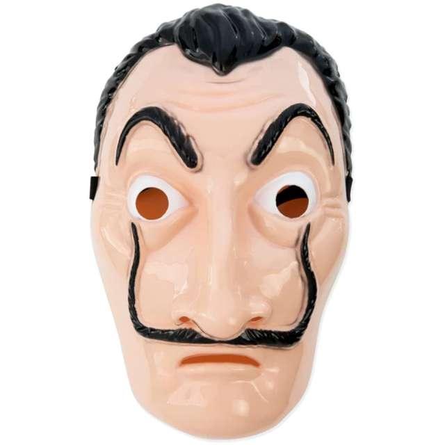 "Maska ""El Profesor - Dom z papieru"", ecru, PartyPal"