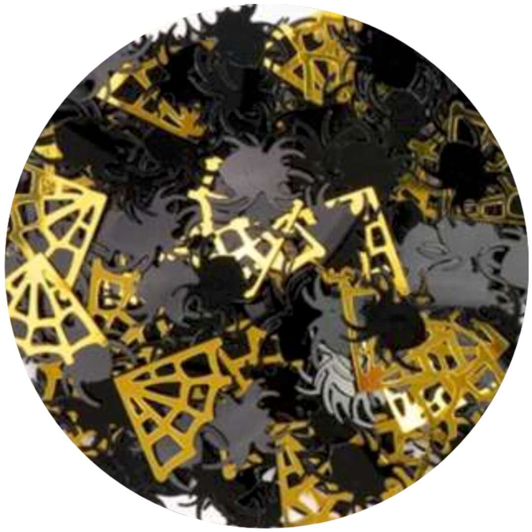 """Konfetti """"Halloween - pająki, pajęczyna"""", PartyPal, 15 g"""