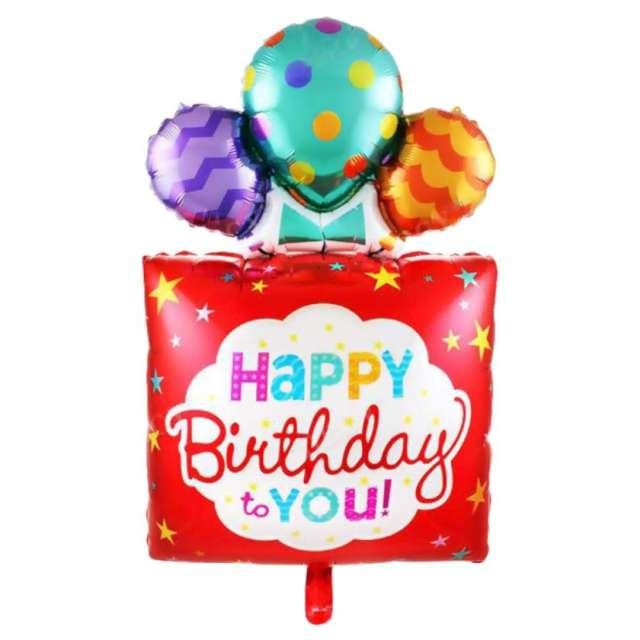 """Balon foliowy """"Happy birthday to you 42"""" SHP"""