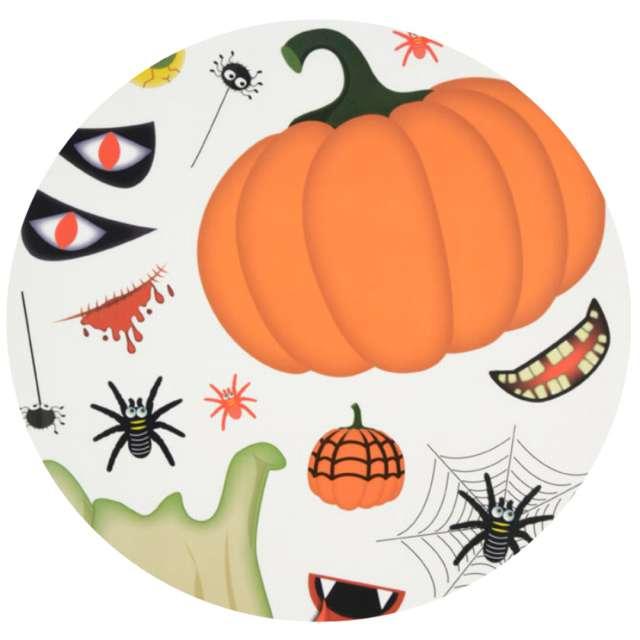 """Dekoracja """"Halloween - jak stworzyć ducha dyni"""", folia elektrostatyczna, Arpex"""