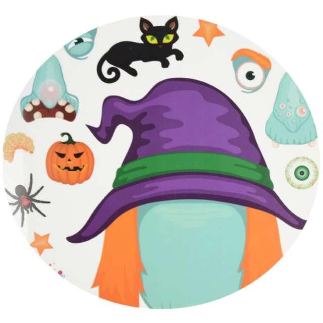 """Dekoracja """"Halloween - jak stworzyć wiedźmę"""", folia elektrostatyczna, Arpex"""