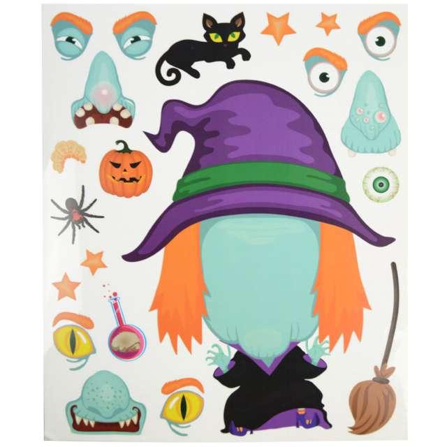 Dekoracja Halloween - jak stworzyć wiedźmę folia elektrostatyczna Arpex