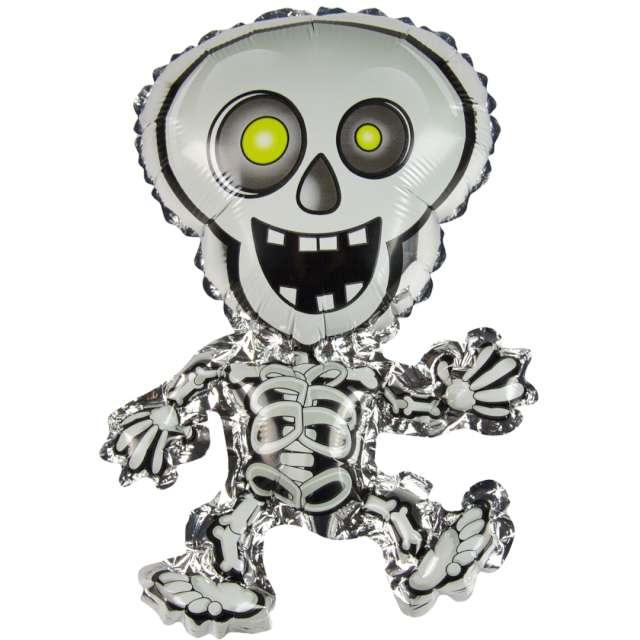 Balon foliowy Uśmiechnięty szkielet Kostek Arpex SHP