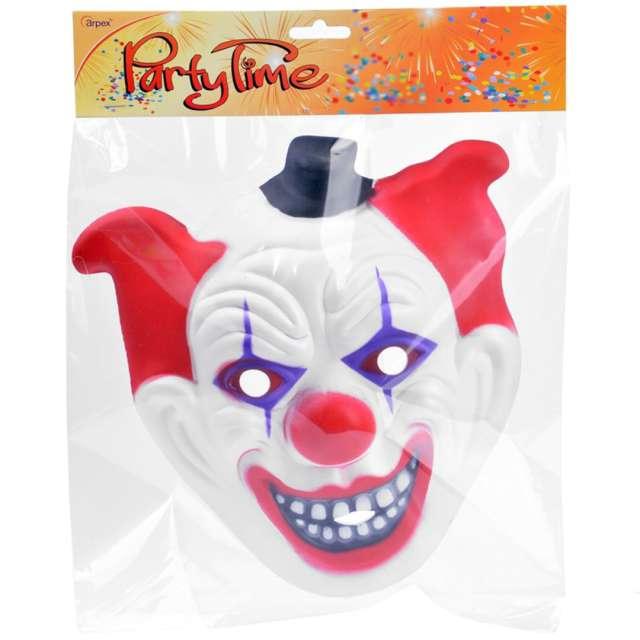 Maska Klaun psychopata w czapce piankowa Arpex