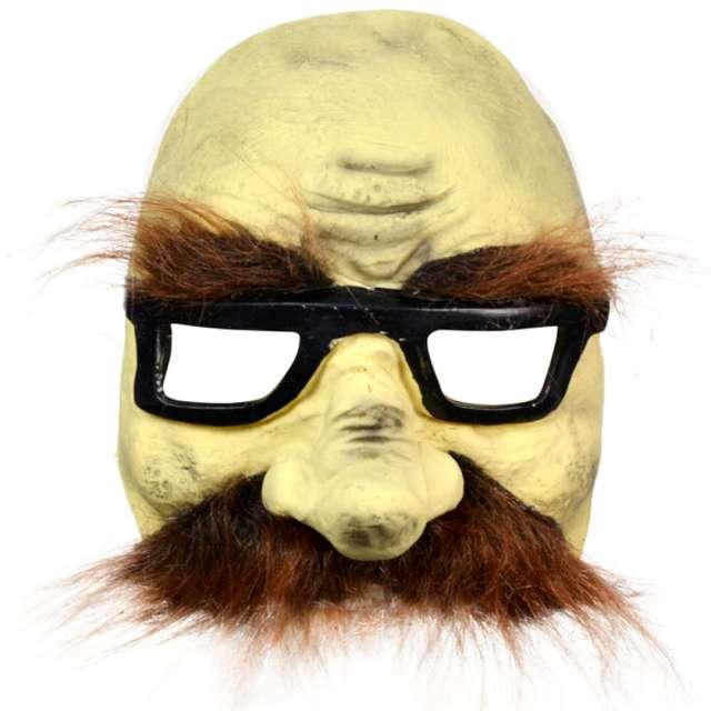 Maska Wąsacz w okularach lateksowa Arpex