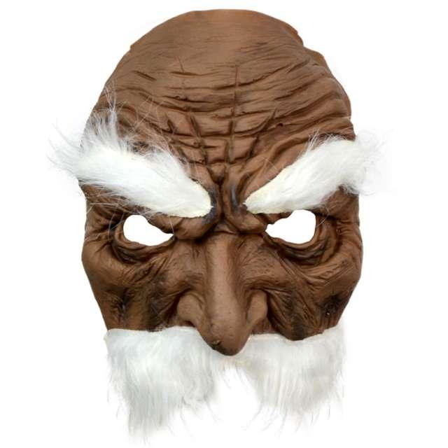 Maska Wąsacz w okularach - Mroczny lateksowa Arpex