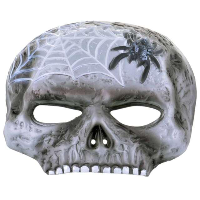 Maska Czaszka z pająkiem piankowa Arpex