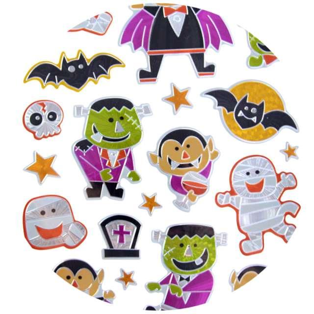 "Naklejki ""Halloween - mumie i wampiry"", metalizowane, Arpex"