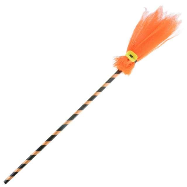 Miotła czarownicy Pomarańczowy tiul Arpex 90 cm