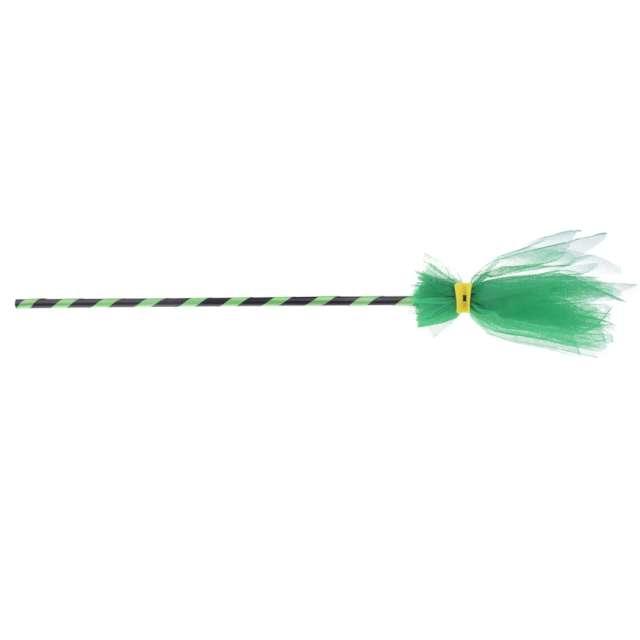 Miotła czarownicy Zielony tiul Arpex 90 cm