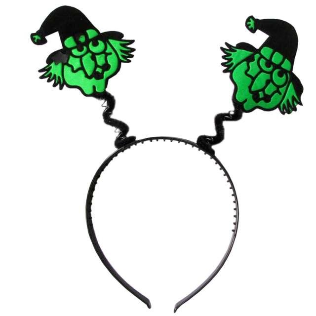"""Opaska party """"Zielone wiedźmy"""", czarna, Arpex"""