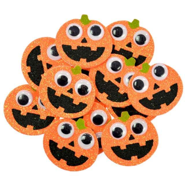 Naklejki Piankowe dynie - Halloween pomarańczowe Arpex 12 szt