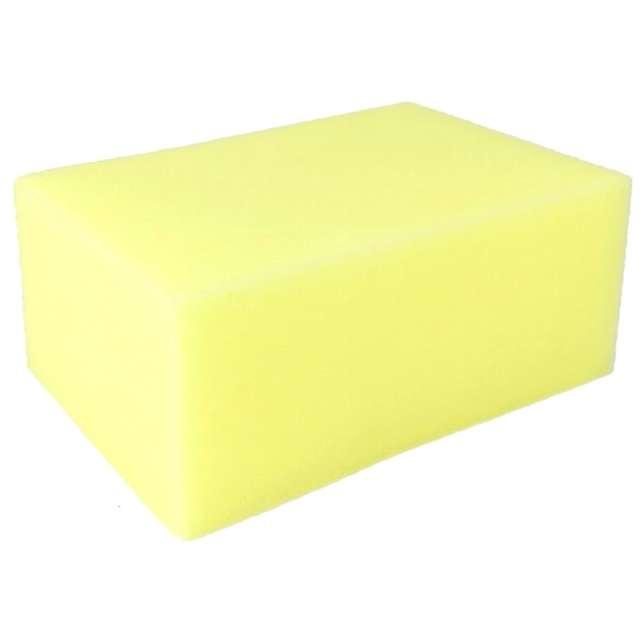 Gąbka do mycia Auto błysk żółta Leviatan 16 x 11 cm