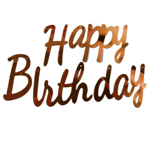 "Baner ""Happy Birthday"", szampański, Jix"
