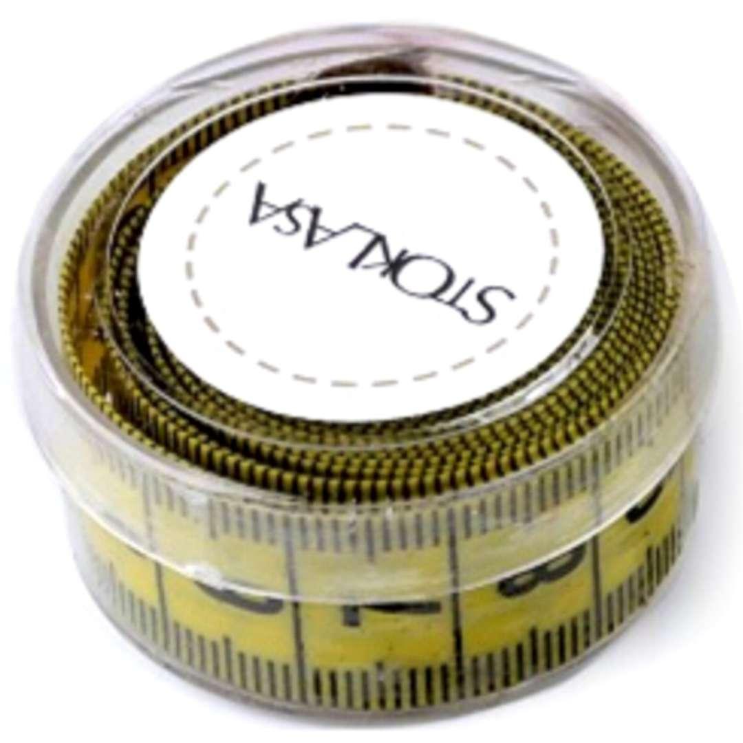 Miara krawiecka Centymetr żółty Stoklasa 150 cm