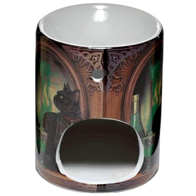 Kominek ceramiczny Do olejków - Kot i absynt Puckator