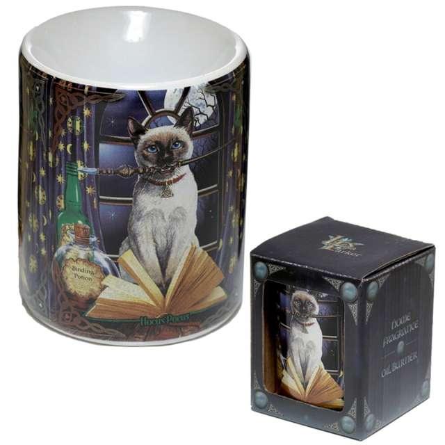 Kominek ceramiczny Do olejków - Kot Czarownik Puckator