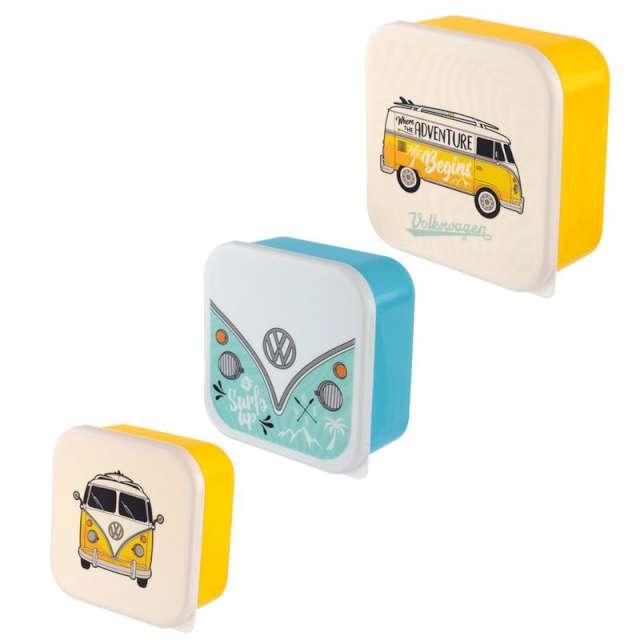_xx_Zestaw 3 pudełek śniadaniowych VWT1 Bus Surf Adventure