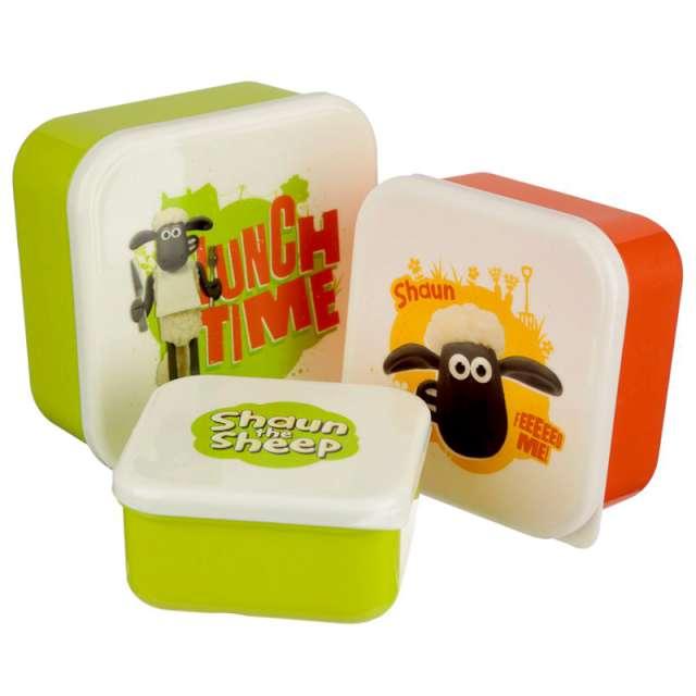 _xx_Zestaw 3 pudełek śniadaniowych Shaun The Sheep