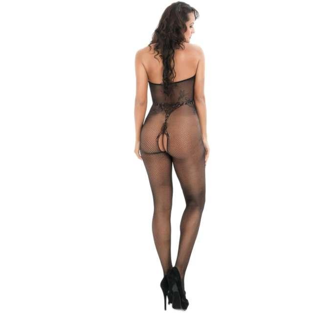 Bielizna erotyczna Body Ażurowe czarna Kemiś rozm. uniw