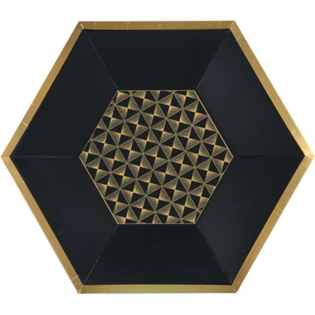 _xx_Art deco plate black