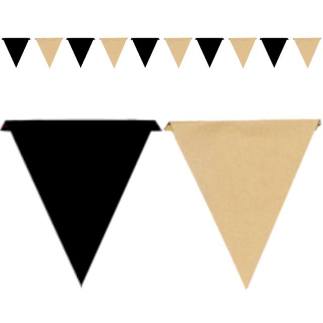 Baner flagi Black & Kraft SANTEX 500 cm