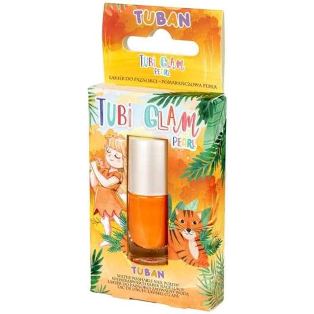 Make-up party Lakier do paznokci TUBI GLAM pomarańczowy perłowy Tuban 5 ml