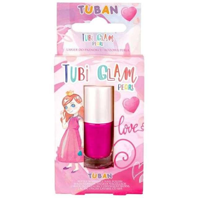 Make-up party Lakier do paznokci TUBI GLAM różowy perłowy Tuban 5 ml