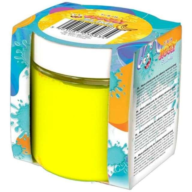 "Zestaw ""Jiggly Slime - żółty banan"", Tuban, 100g"