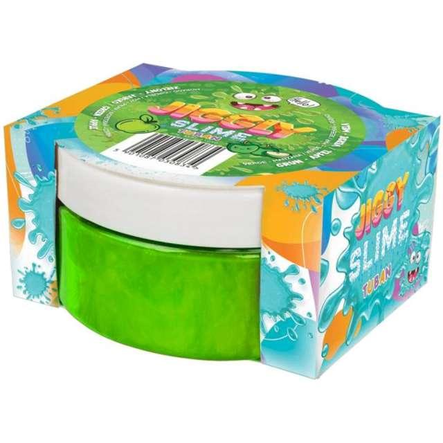 Zestaw Jiggly Slime - zielone jabłko Tuban 200g