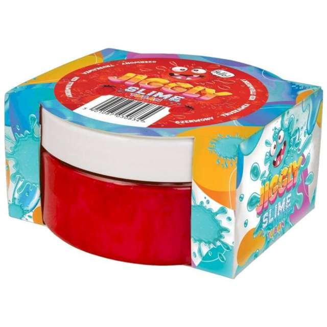 Zestaw Jiggly Slime - czerwona truskawka Tuban 200g