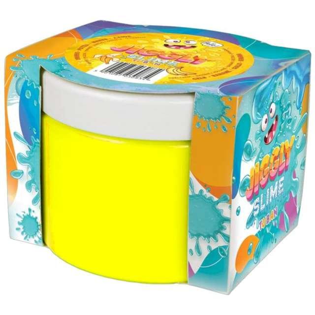 Zestaw Jiggly Slime - żółty banan Tuban 500g