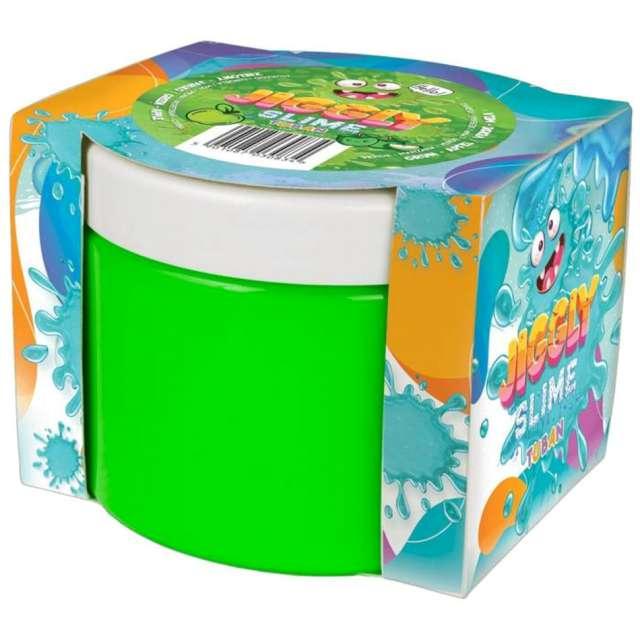 Zestaw Jiggly Slime - zielone jabłko Tuban 500g