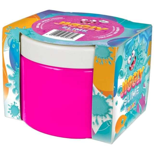 """Zestaw """"Jiggly Slime - różowy perłowy"""", Tuban, 500g"""