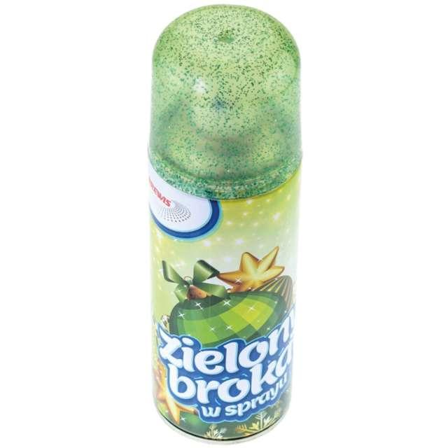"""Brokat w sprayu """"Classic"""", Brewis, zielony, 250 ml"""